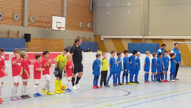 """""""6. Xmascup 2018"""" in Bergen Enkheim:  F-Junioren belegen zweiten Platz im Leistungsturnier"""