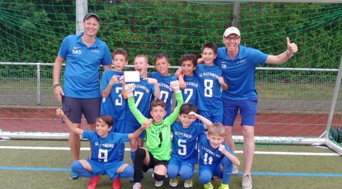 SC Riedberg gewinnt den Heddernheimer E2 SommerCup 2019