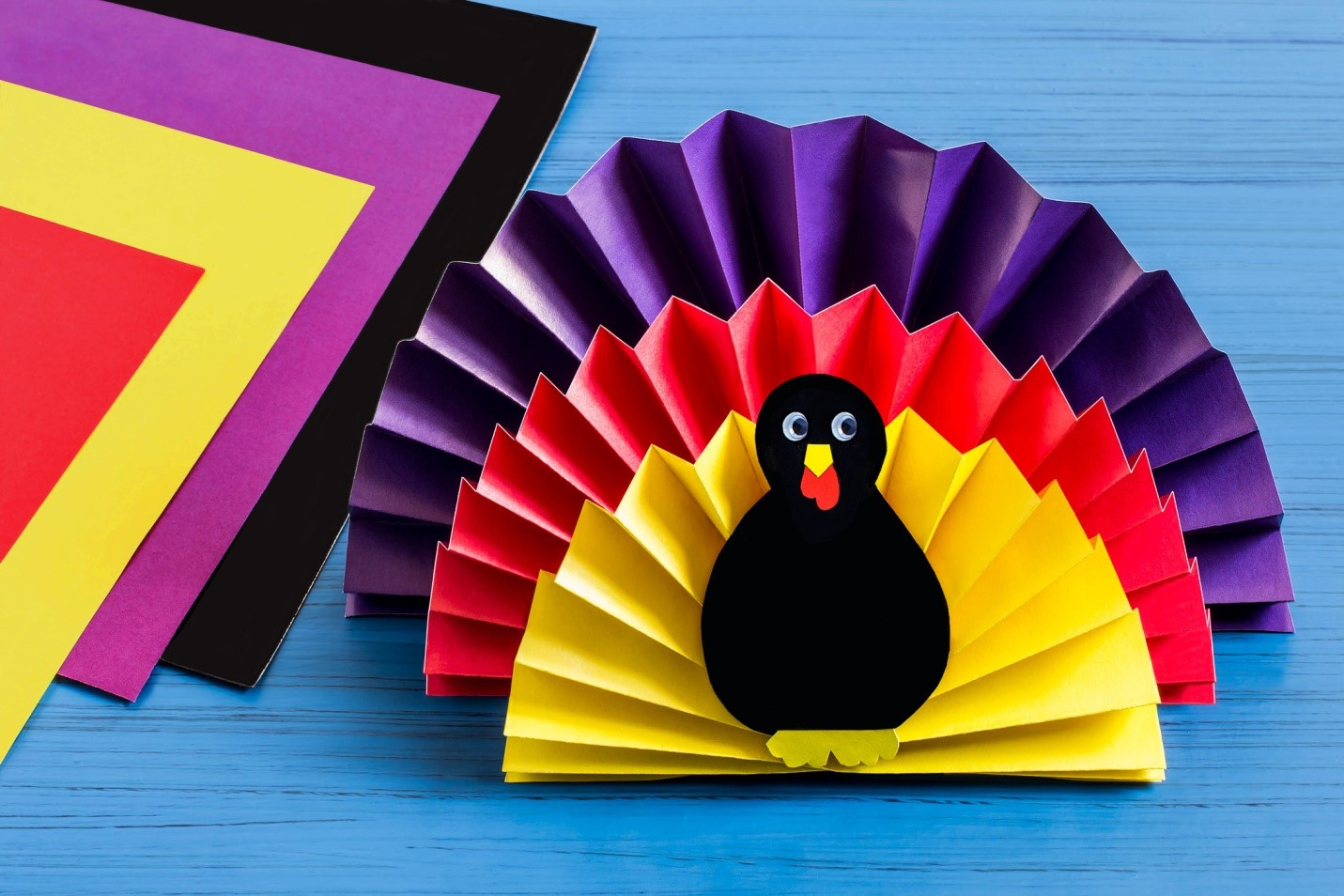 Easy Turkey Thanksgiving Craft Project Scrigit Sc R