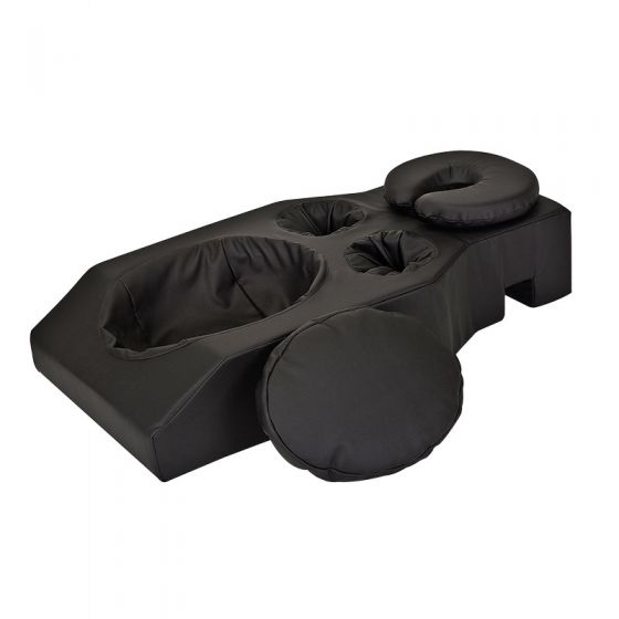 earthlite prone comfort bolster headrest