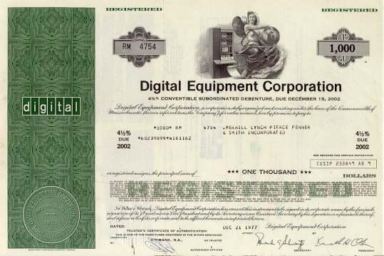 Digital Equipment Corporation - DEC ( Pre Compaq and HP ...