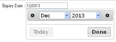 jQuery datepicker to show month and year only ...