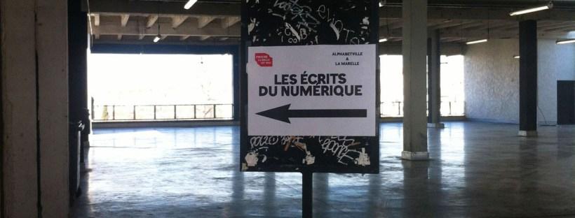 Les Écrits du numérique à Marseille