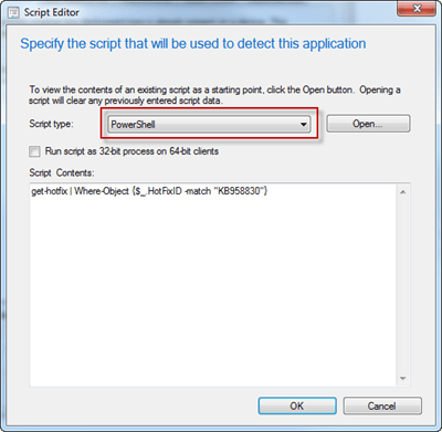 Application Detection Method for Windows Update files ( msu