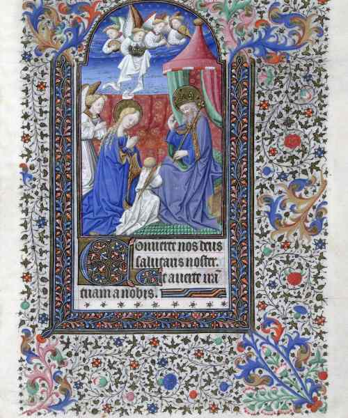 F. 91 Coronation Of The Virgin