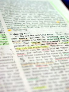 Bible Highlighted