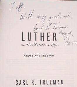 Carl Trueman Signature