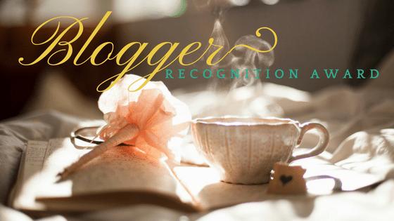 Il mio blog Diario #18 – BLOGGER RECOGNITION AWARD
