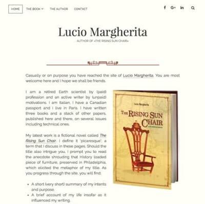 Siti per autori | Lucio Margherita