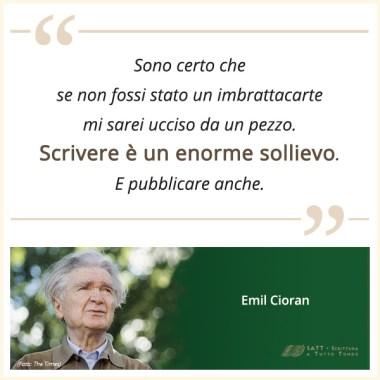 Scrittori di successo: Emil Cioran