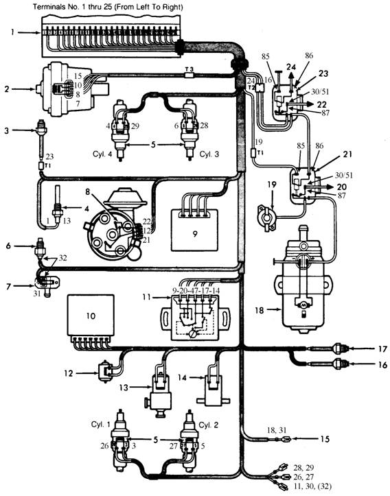 Rx 7 Efi Engine Wiring Harness Diagram