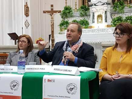 Licata San Domenico presentazione GIORNALISMI l'intervento dell'autore prof Francesco Pira