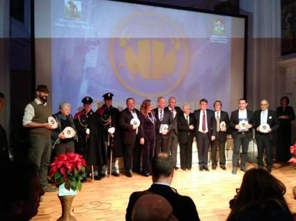 Agrigento Premio Karkinos 2018 foto di gruppo Premiati e Organizzatori