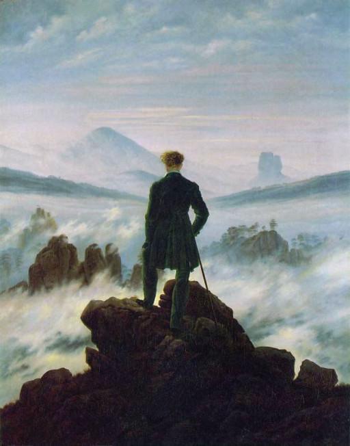 Quale parola userai oggi - Il viandante sul mare di nebbia | Scrivopositivo