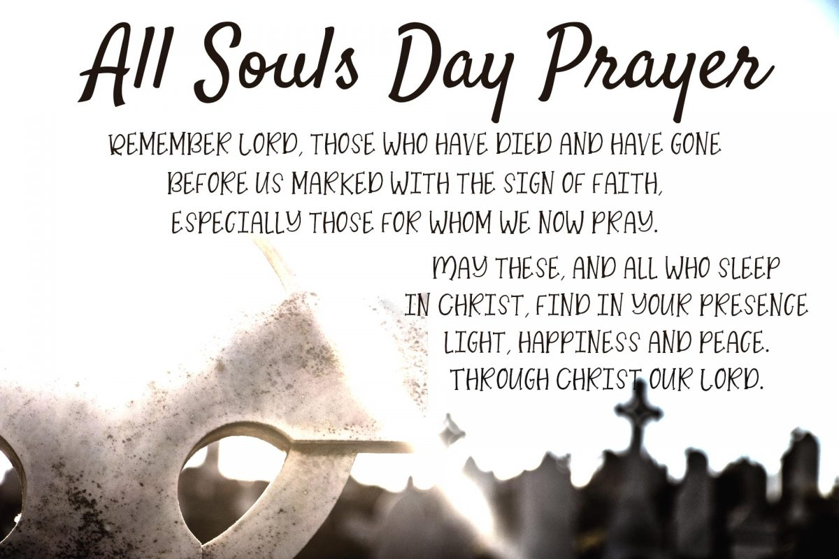 All Souls Day Prayer The Southern Cross