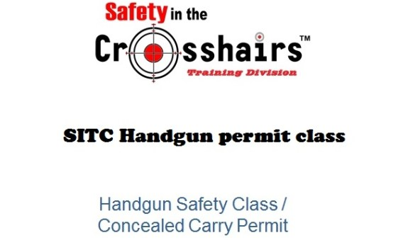 Handgun Safety Class/ Concealed Carry Permit
