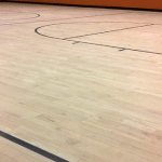Wood Gym Floor Finish & Synthetic Sports Floor Finish Back in Use 24 Hours After Recoat!