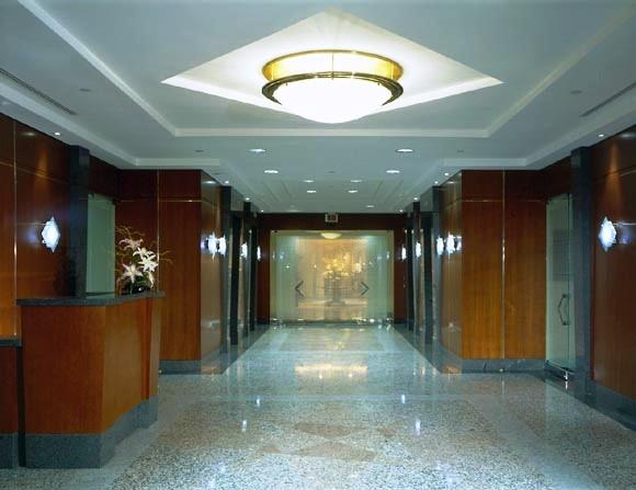 Elegant Office Lobby