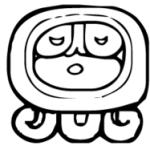 Mayan god Ahau