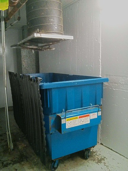 Commercial Trash Room Cleaning Service