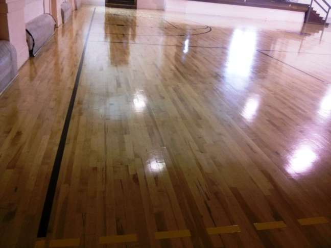 Gym Floor Markings - Gym Floor Paint Lines