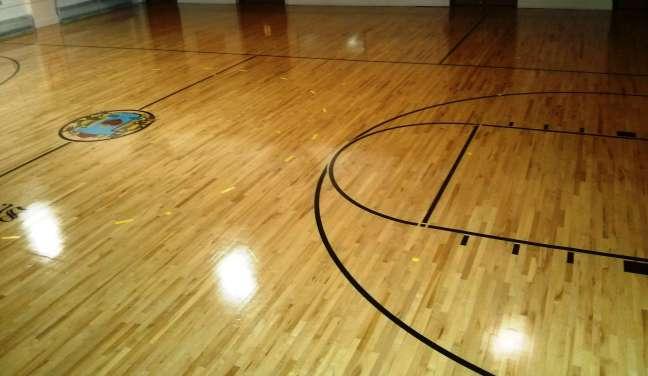 High Gloss Wood Gym Floor Coatings MN