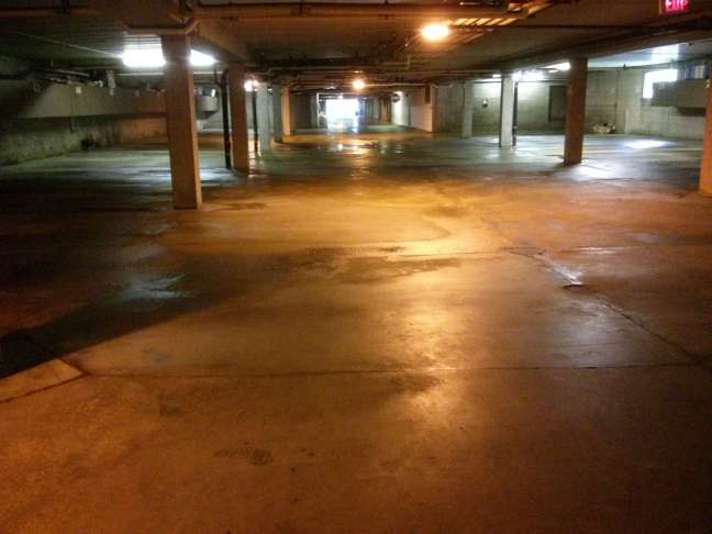 Parking Garage Pressure Wash Cleaning Services in St Paul, MN