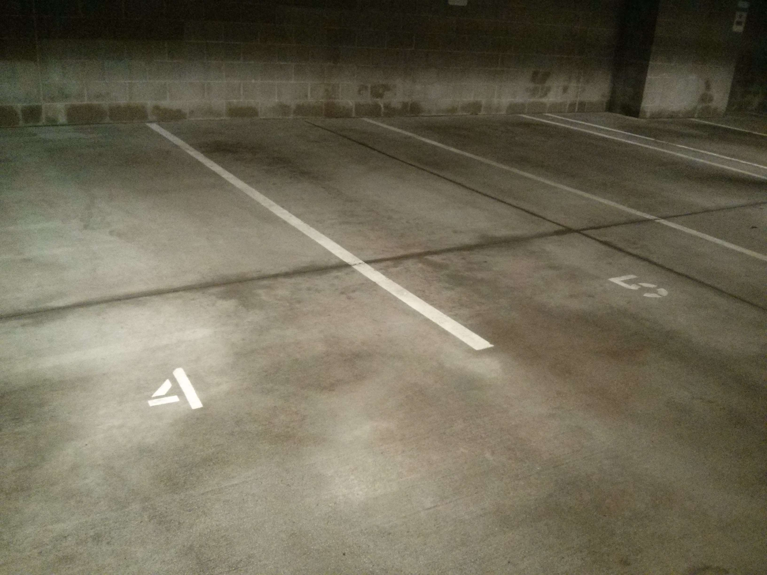Parking garage concrete floor pressure wash scrub and for Garage floor cleaning service