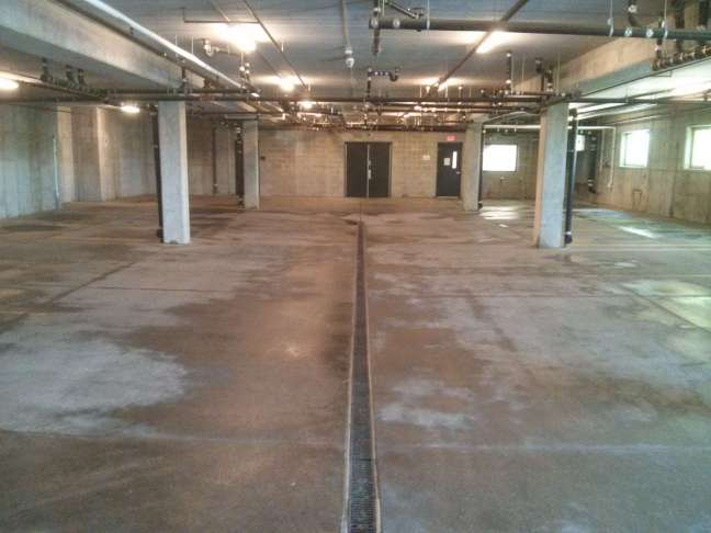 Parking Garage Pressure Wash Cleaning Service Brooklyn Center MN