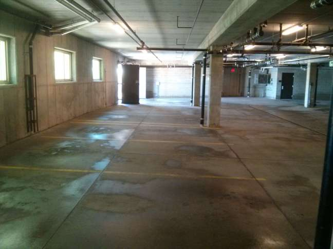 Parking Garage Pressure Wash Cleaning Services in Maple Grove MN
