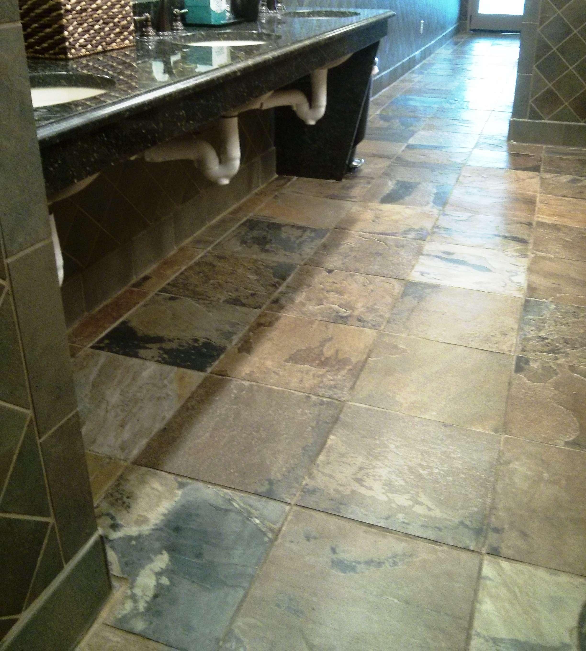 Slate floor tiles need penetrating sealer slate flooring penetrating sealer doublecrazyfo Choice Image