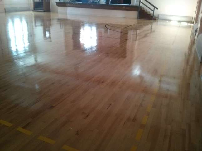 Wood gym floor coatings Services Twin Cities
