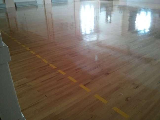 Wood gym floor coatings services Minneapolis