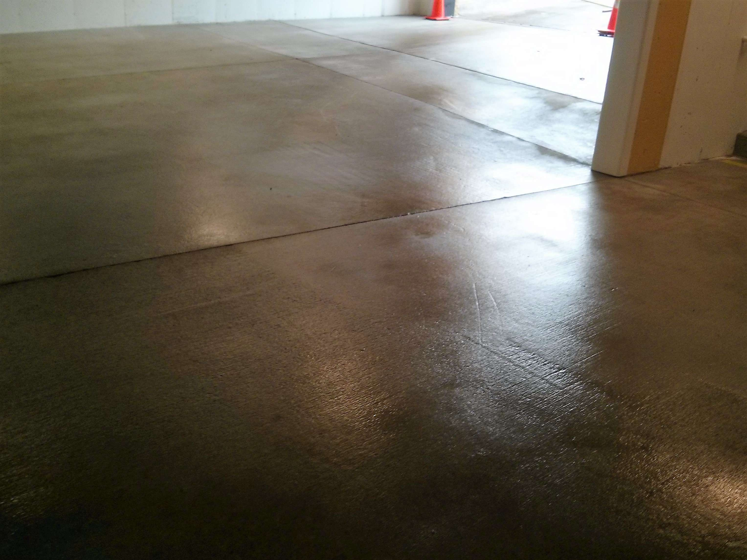 Parking garage concrete floor pressure washing and for How to clean concrete garage floor