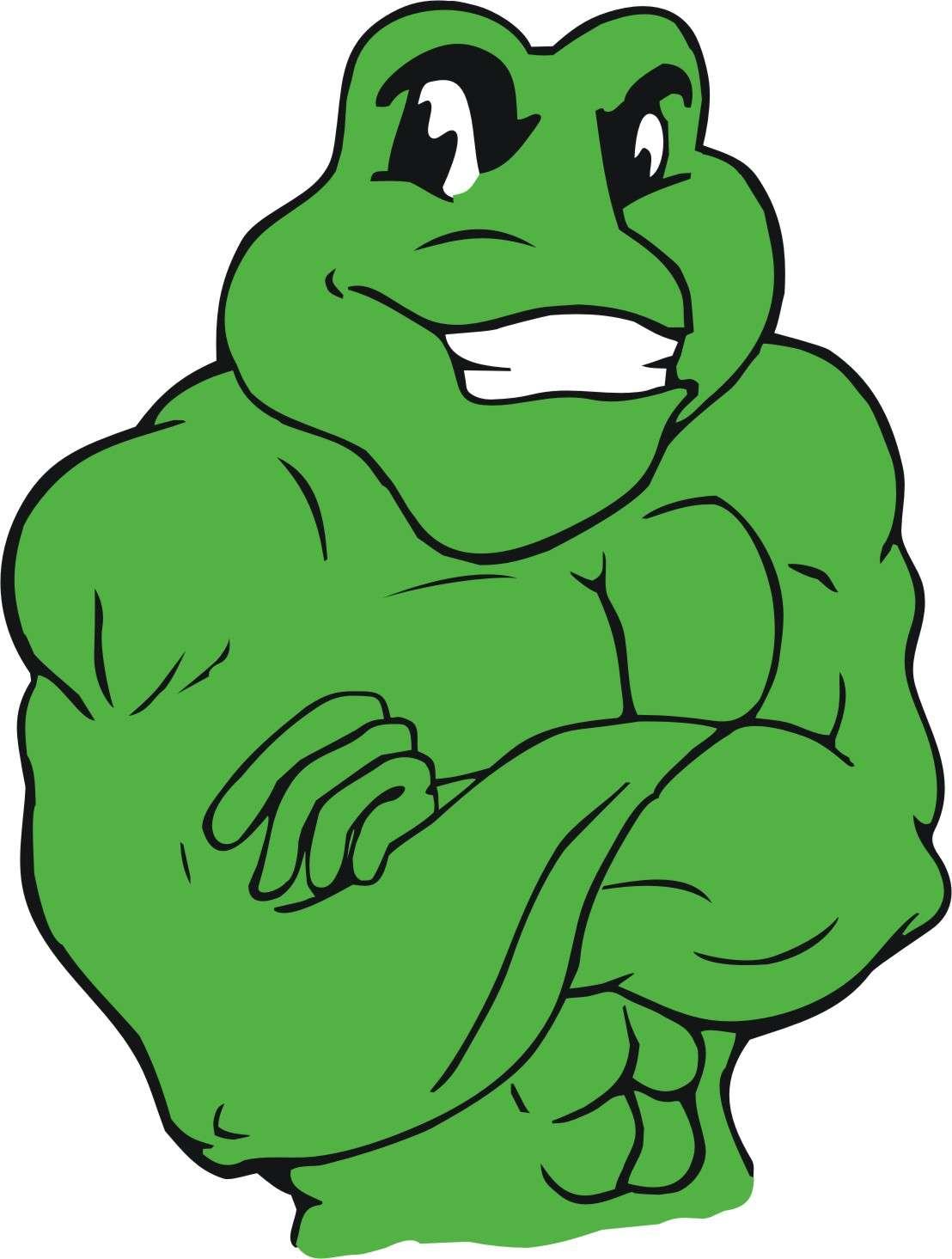 Scrub n Shine mascot