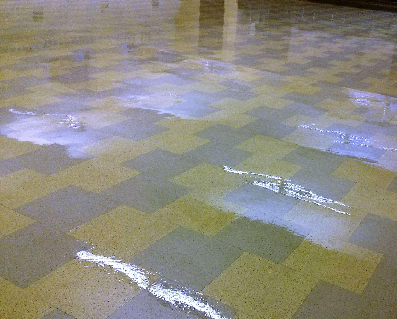 Restore Shine To Vinyl Floor Of Old Vct Floor Tile In Minneapolis Church