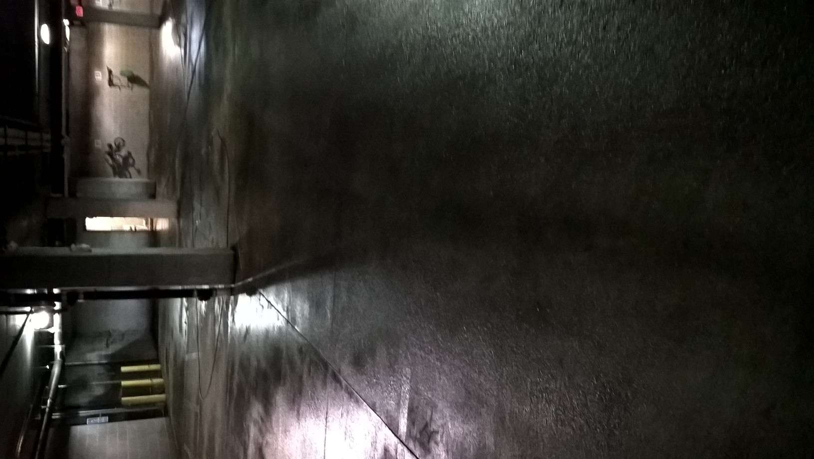 Parking garage concrete floor power scrub jobs in twin cities for Garage floor cleaning service
