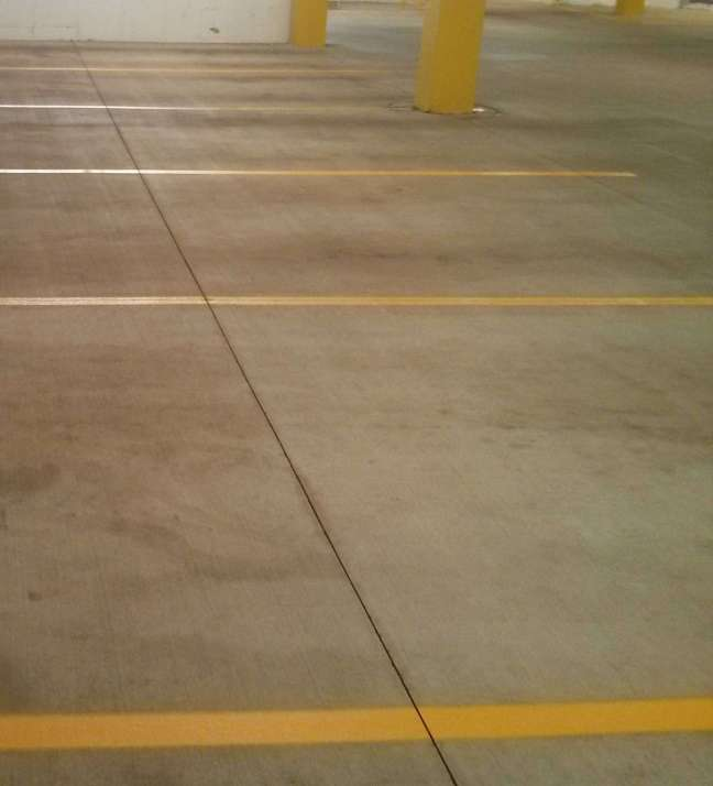 Parking Garage Pressure Washing Service and Re-Striping in Minneapolis