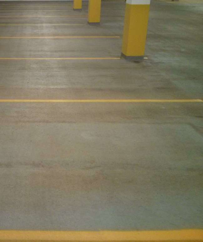 Parking Ramp Pressure Wash and Re-Striping in Minneapolis
