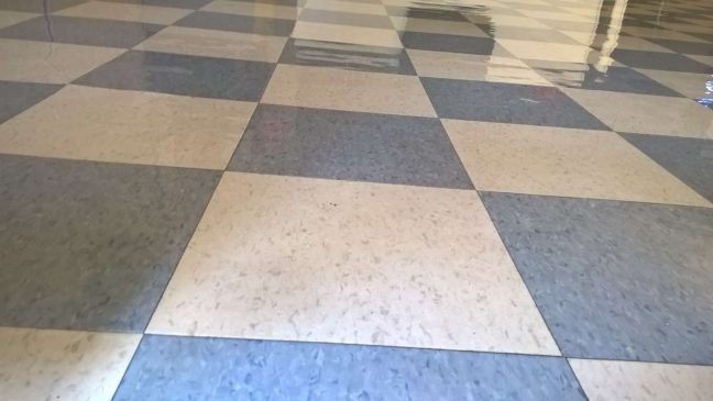 Old VCT Floor Clear Coatings in Crystal MN