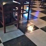 Shiny Vinyl Flooring Restoration Job in St Michael MN