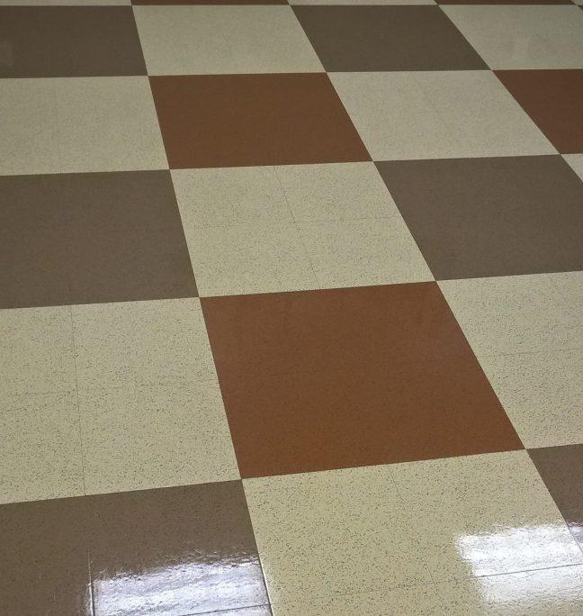 VCT Floor Scrub and ReCoat in Chanhassen MN