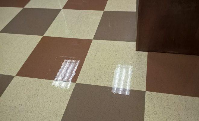 Vinyl Floor Scrub and ReCoat in Chanhassen MN