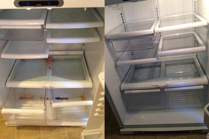 Inside fridge 2