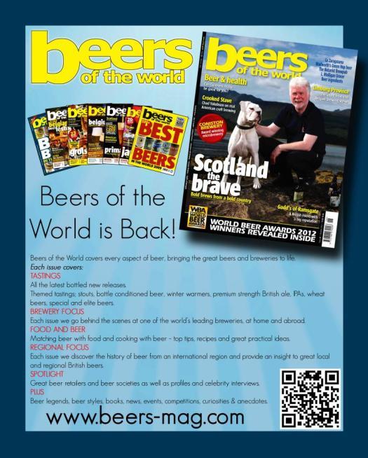 Beers of the World Magazine