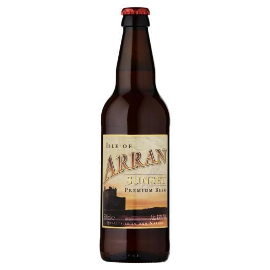 Arran Brewery Sunset