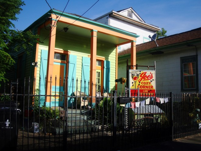 Joe's Cozy Corner Is Today's Bywater Daily Photo