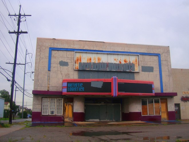 9th Ward Daily Photo: The Grit Adult Theater via RL Reeves Jr