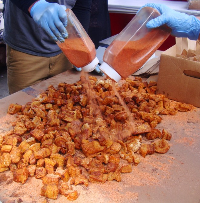 Cracklins From Bonneval Foods in Gonzales Louisiana