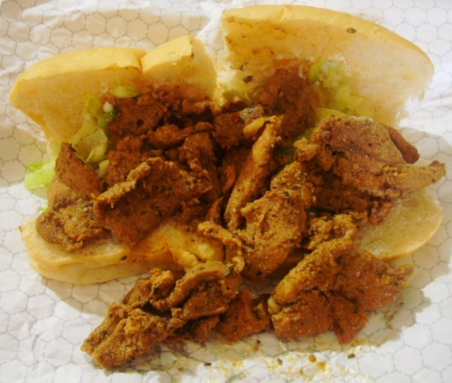 Grillades Po Boy In Lafourche Parish Louisiana
